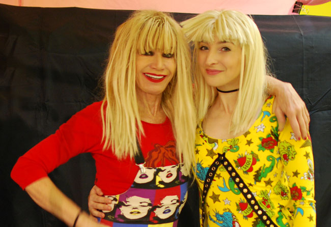 Betsey Johnson & Gala Darling